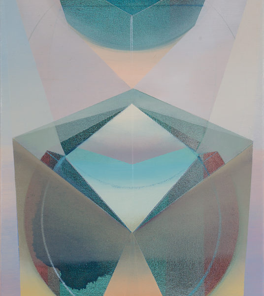 ATU, Acryl, Pigment und Öl auf Leinwand, 60 x 40 cm
