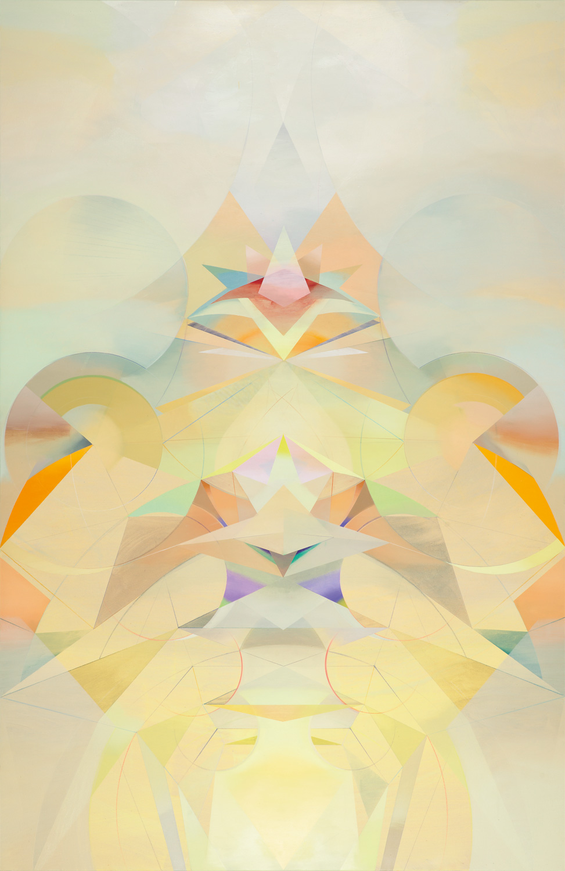 CACAMA, Acryl, Pigment und Öl auf Leinwand, 250 x 162 cm