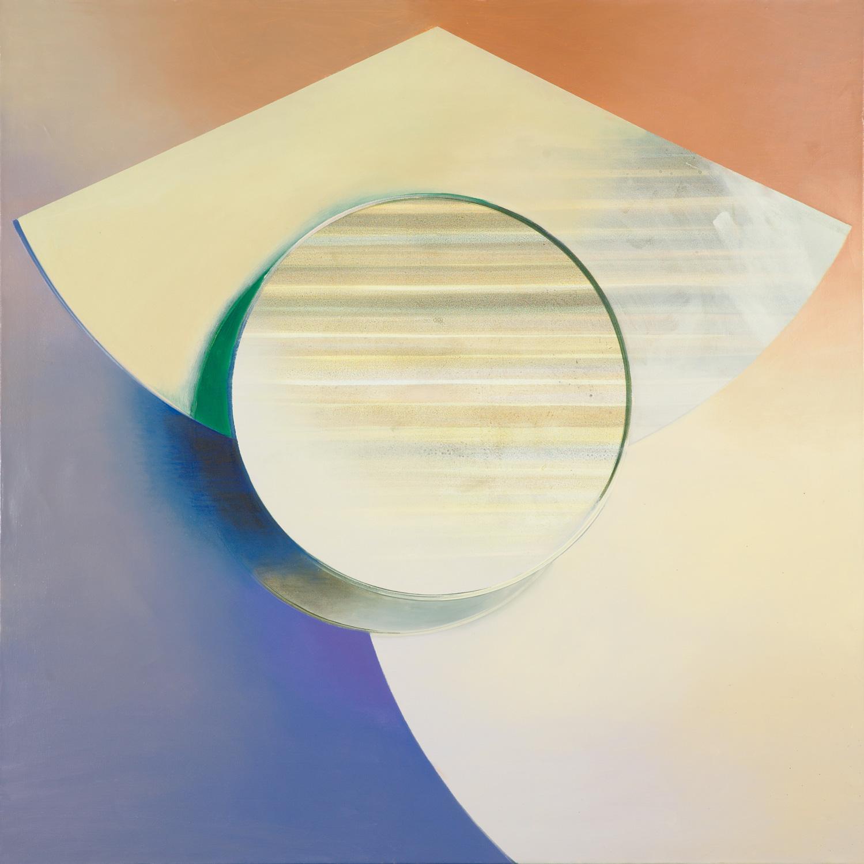 PETERE, Acryl, Pigment und Öl auf Leinwand, 130 x 130 cm