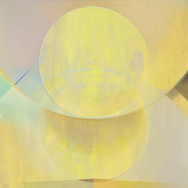 MAGAN, Acryl, Pigment und Öl auf Leinwand, 90 x 180 cm