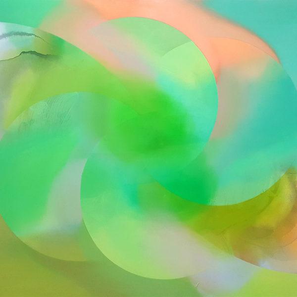 SEMEN, Acryl, Tusche, Pigment und Öl auf Leinwand, 135 x 190 cm